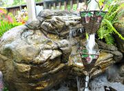 Small Backyard Waterfall Rock SRW-008