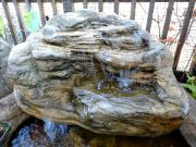 Medium Backyard Garden Pond Waterfall Rock MW-004