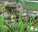 Large Faux Rock Garden Waterfalls LEW-003-Med