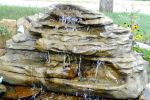 Large Backyard Garden Pond Waterfalls LEW-004