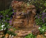 Small Garden Waterfall Pond Kit WWP-008