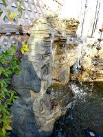 Large Garden Vertical Rock Waterfalls LW-003
