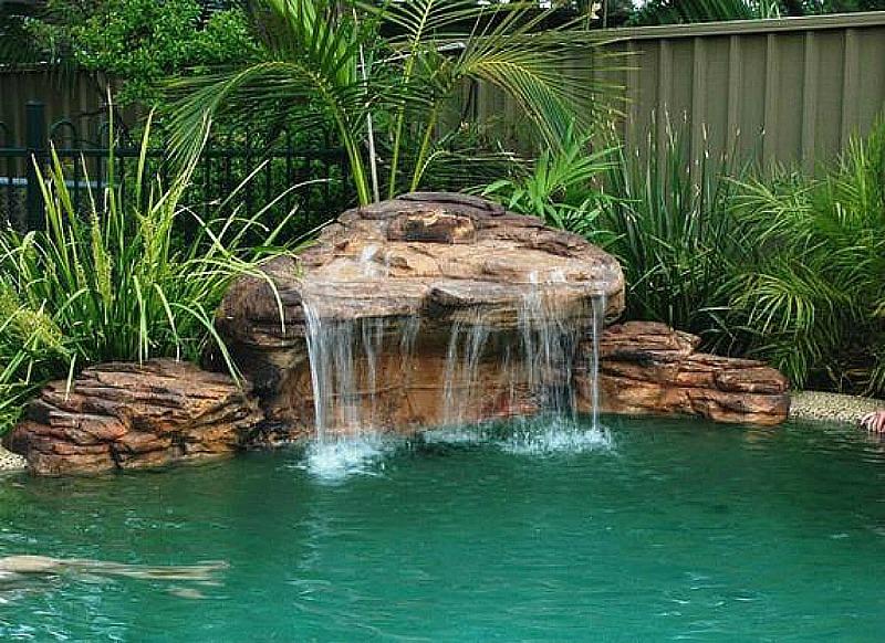 Maldives Swimming Pool Waterfalls Kits | Artificial Pool Rock