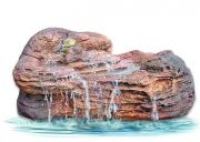 Medium Fish Pond Backyard Waterfall Rock MW-009