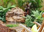 Ruffled Waters-Medium Tropical Pond Waterfalls Garden Kits