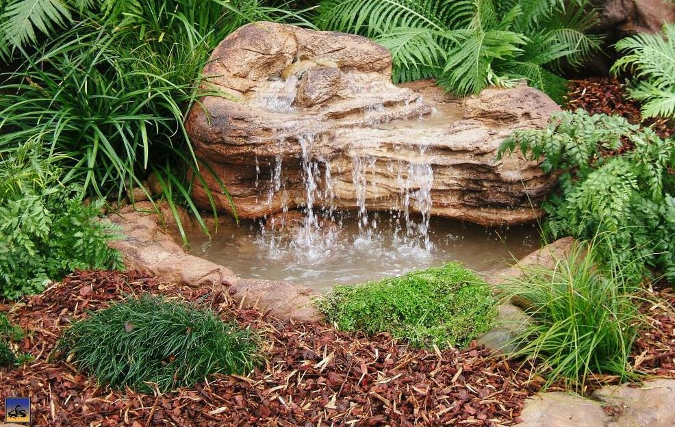 Medium backyard garden pond waterfall kits artificial rocks for Waterfalls for ponds for sale