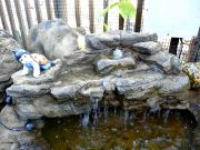 Small Backyard Garden Waterfalls SRW-021