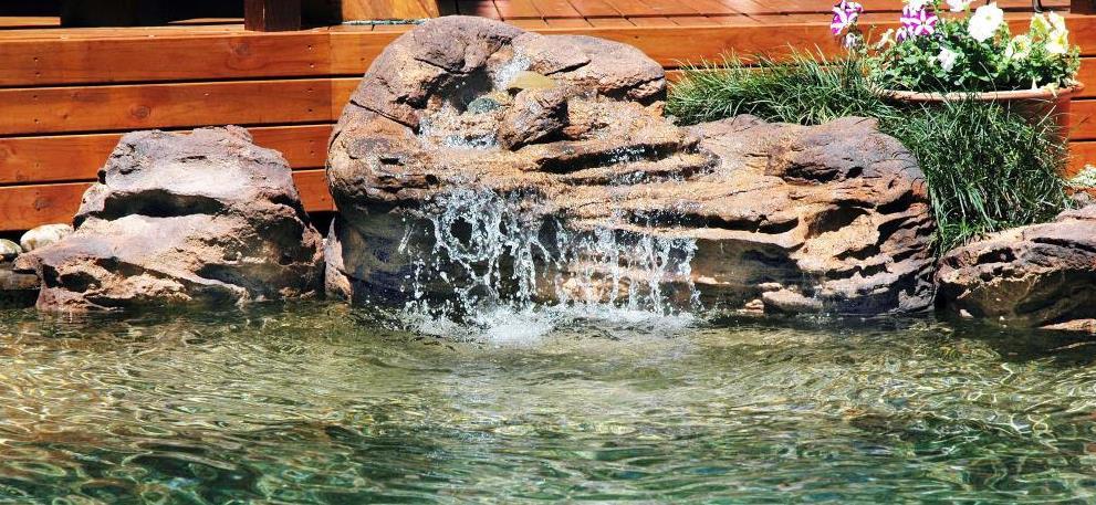 Somerset Small Swimming Pool Waterfalls Kit