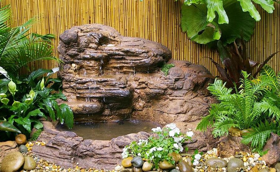 Garden Pond Waterfall Kits Water Features Fountains